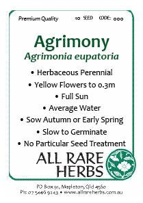 Agrimony seed