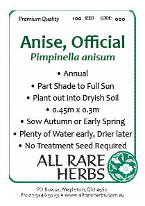 Anise Official seed