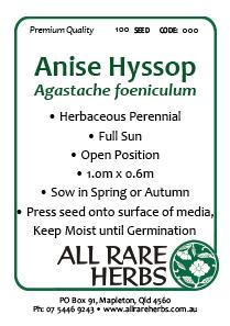 Ansie Hyssop