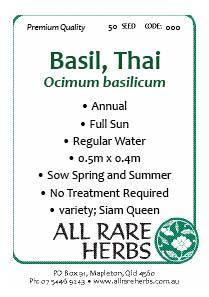 Basil Thai seed