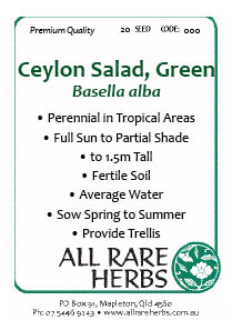 Ceylon Salad Green