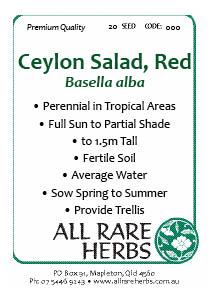 Ceylon Salad Red