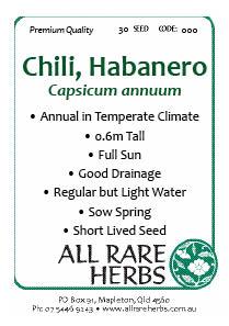 Chili Habanero