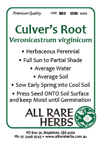 Culvers Root