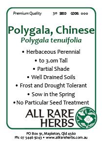 Polygala Chinese