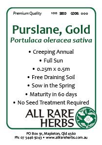 Purslane Gold