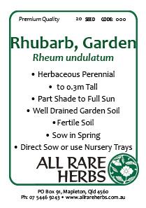 Rhubarb Garden