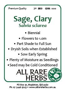 Sage Clary