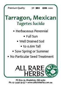 Tarragon Mexican