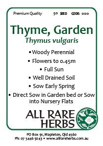 Thyme Garden