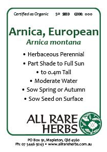 Arnica, European, seed