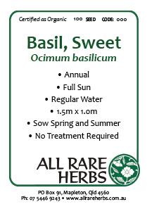 Basil, Sweet, seed