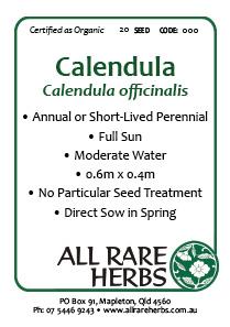 Calendula, seed