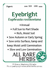 Eyebright, seed
