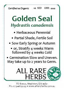 Golden Seal seed