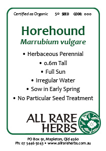 Horehound, seed