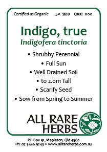 Indigo, True  seed
