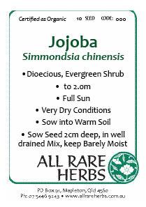 Jojoba, seed