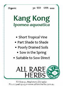 Kang Kong, seed