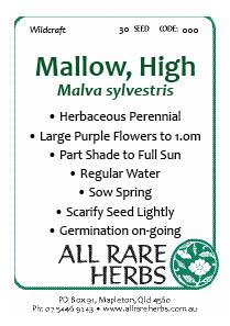 Mallow, High  seed