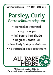 Parsley, Curly  seed