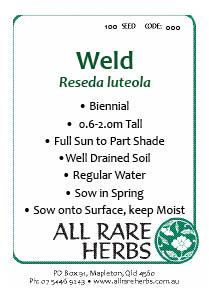 Weld, seed