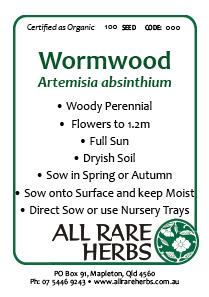 Wormwood, seed