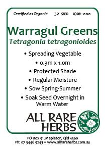 Warragul Greens, seed