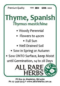 Thyme Spanish
