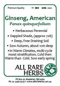Ginseng American
