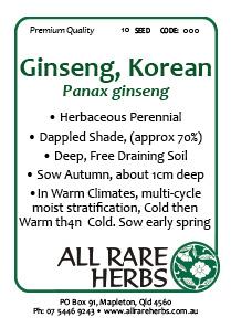 Ginseng Korean